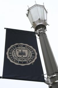 University of Notre Dame flag